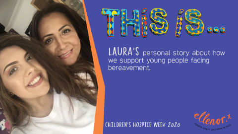 Interview with Laura Ash – How ellenor supported me through the trauma of bereavement...