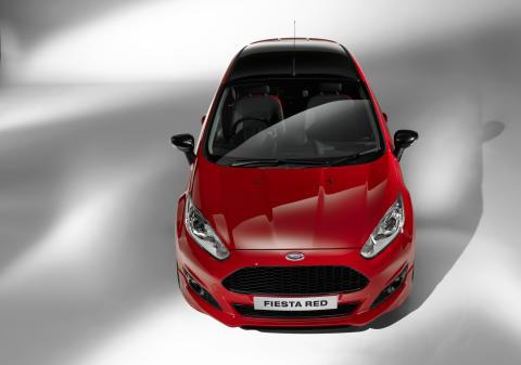 Fiesta Red Edition med prisbelønt 1.0-liters EcoBoostmotor med 140 HK