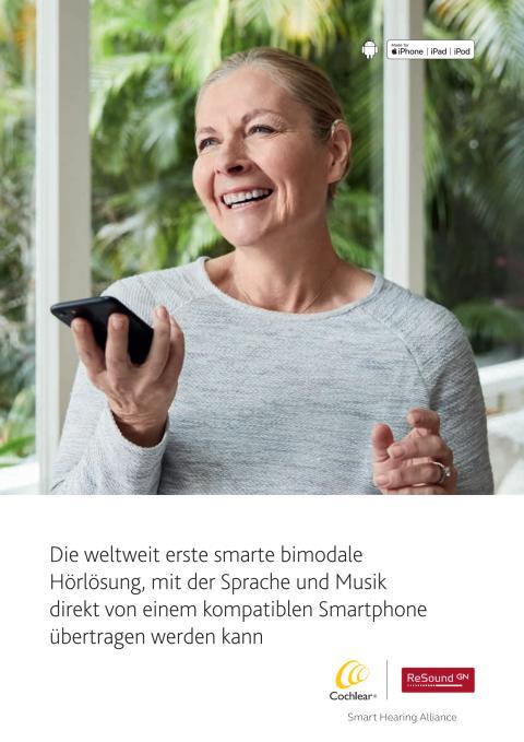 Die smarte bimodale Hörlösung - Hörgerät und Hörimplantat