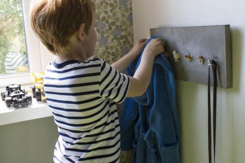 Barnevennlig knaggrekke 3