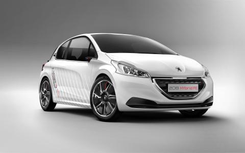 Peugeot på bilsalongen i Frankfurt 2013: Klimatsmarta innovationer med luft i tankarna - Peugeot 2008 HYbrid Air och 208 HYbrid FE