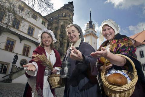 Torgau lädt ein: Vom 16. bis 18. September 2016 findet das Sächsische Landeserntedankfest statt