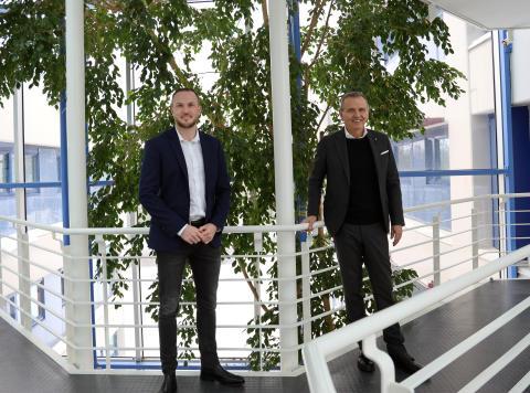Atle Rønningen og Kim Henriksen