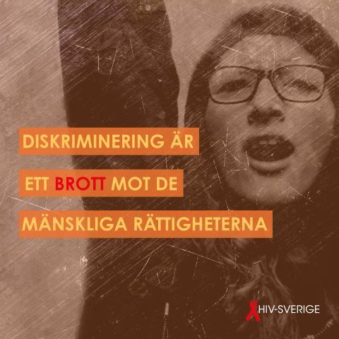 Internationella dagen mot diskriminering: Värna om MR!