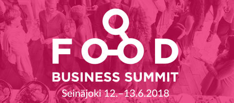 Kalenteriin! Food Business Summit 12.-13.6.2018