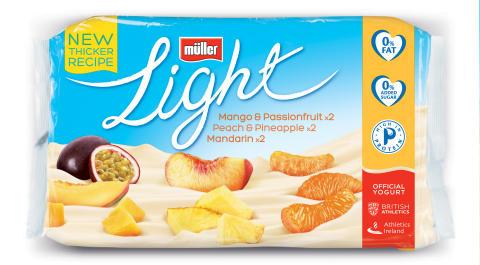Müllerlight 6 Pack Mango Passionfruit, PeachPineapple & Mandarin