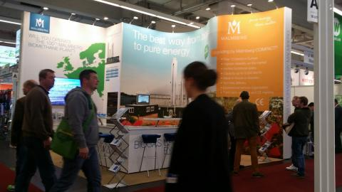 Energy for farmers at Agritechnica