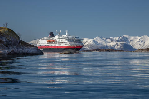 ​Hurtigruten tests biodiesel that potentially can change the shipping industry