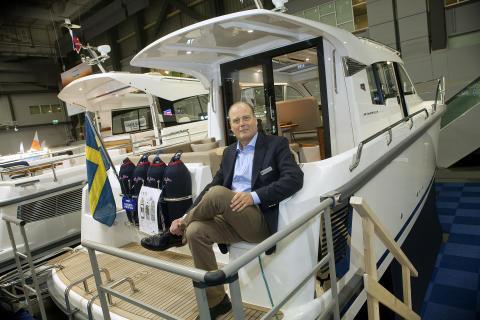 Skandinavienpremiär på Båtmässan 2015