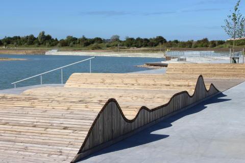 Råby sjöpark i södra Lund