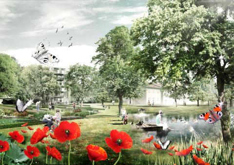 Visionsbild Sege Park