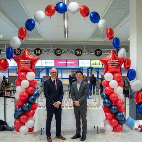 Norwegian's new route to Bergen from Manchester takes off