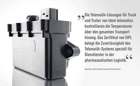 idem telematics: Zitat Heiko Boch zur EIPL-Zertifizierung