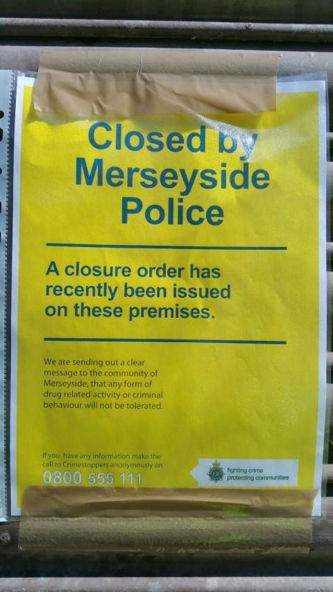 Closure order