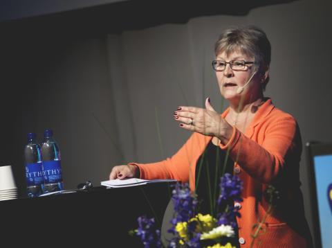 Maud Olofsson på Svensk Besöksnäringskongress