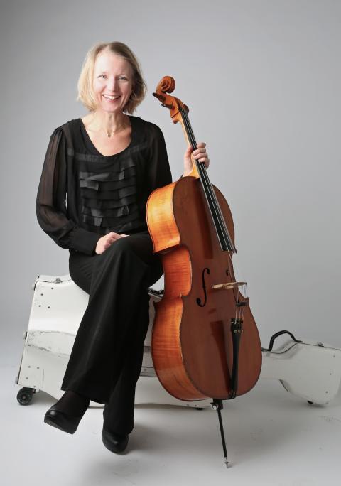 Karin Bjurman, cello, NorrlandsOperan