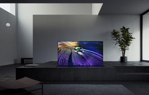 Първият в света телевизор с когнитивна интелигентност, Sony BRAVIA XR A90J, се очаква на българския пазар през април