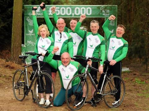 Center Parcs crosses the finish line, raising £500,000 for Great Ormond Street Hospital Children's Charity