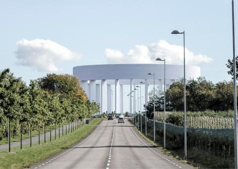 Helsingborgs nya vattentorn hållbarhetscertifieras enligt CEEQUAL