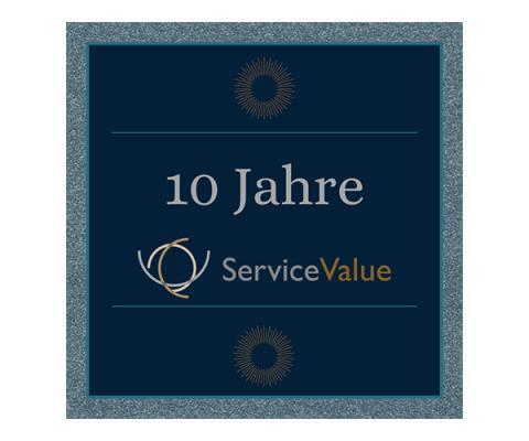 10 Jahre ServiceValue – Wir feiern Geburtstag!