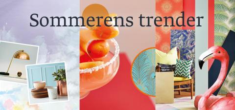 I år skal vi komme i sommerstemning av tre trendretninger!