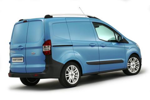 Nya Ford Transit Courier gör premiär på The Commercial Vehicle Show 2013 - bild 2