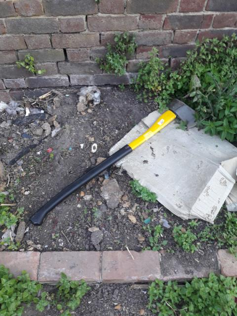 Axe used to target police officers