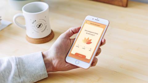 "Appsfactory releast die neue ""beurer CalmDown""-App als Ergänzung zum Connected Device Beurer stress releaZer"