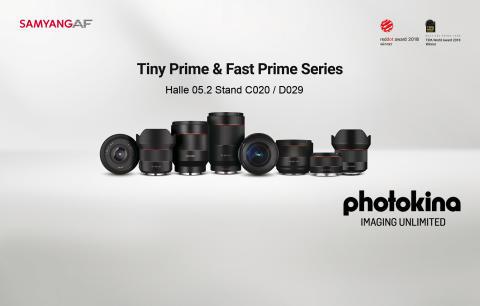 Erleben Sie hautnah acht Samyang Autofokus Objektive auf der Photokina 2018