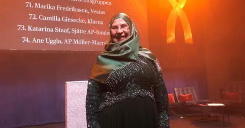 Stort grattis Ulla - Näringslivets mäktigaste entreprenör 2020