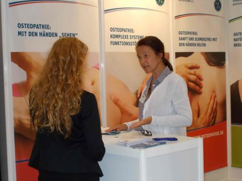 Osteopathie goes to Berlin: VOD beim Hauptstadtkongress