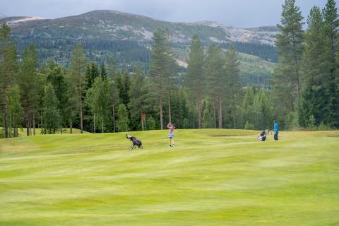 Trysils 18-hulls golfbane