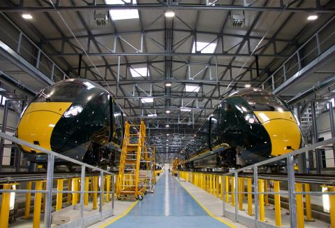 New trains for GWR's Devon and Cornwall route embark from Tuscany on pan-European journey