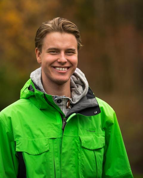 Portrett Knut Erik Alnæs