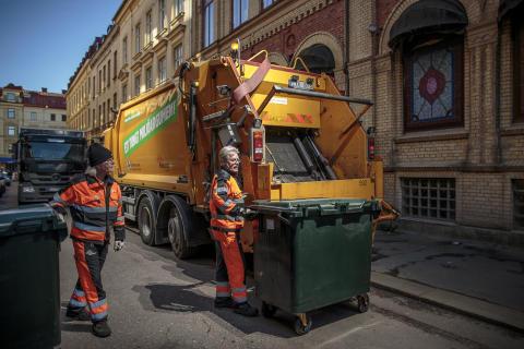 Sophämtning i Göteborg