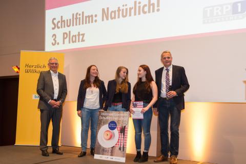 3. Platz: 10. Klasse des Gymnasiums Zwiesel