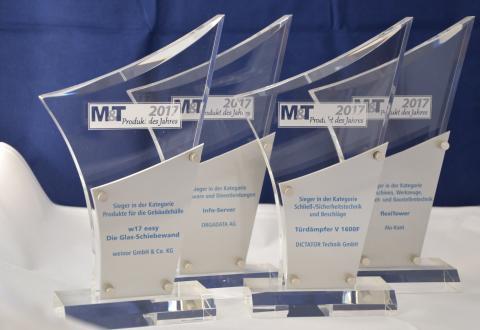 M&T-Metallhandwerk kürt die M&T-Produkte des Jahres 2017