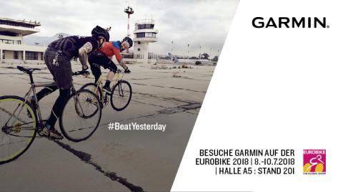 EUROBIKE 2018: Garmin präsentiert Produkt-Highlights aus dem Bike-Bereich