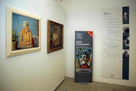 Eröffnung des Mädler Art Forums