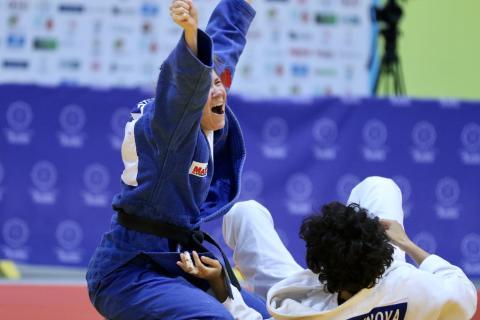 IBSA Judo World Championship Odivelas 2018 Nicolina Pernheim SWE (2)
