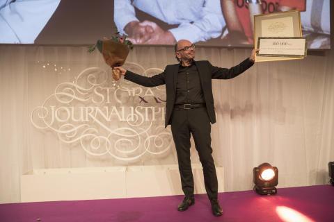 Mats Nileskär, vinnare av Lukas Bonniers Stora Journalistpris