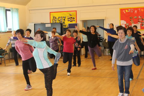 Oriental Exercise at Tron St Mary's Church