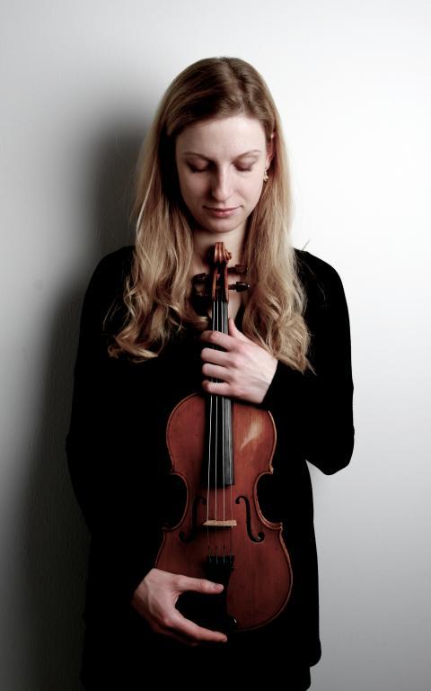 Nicole Ladenthin, violin, NorrlandsOperan