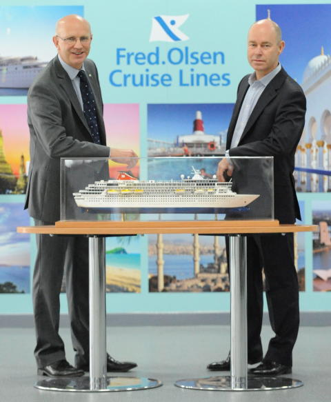 Fred. Olsen Cruise Lines increases its commitment to Newcastle with Balmoral's first-ever cruise season in 2016