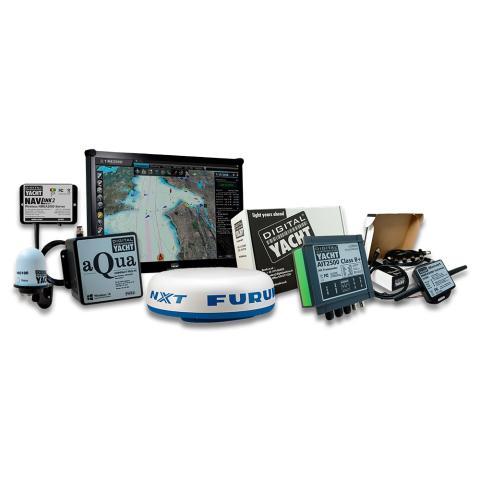 Digital Yacht PC Nav System with Furuno Radar and Timezero Software