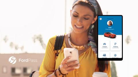 Få full kontroll over bilen med nye FordPass Connect