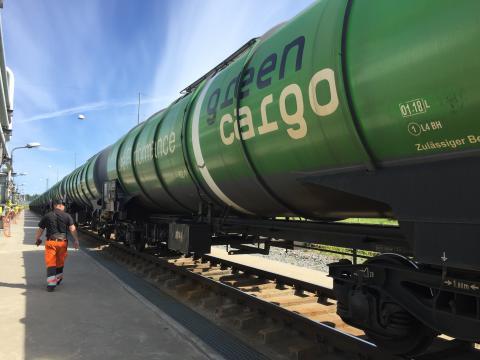 Utan tåget lyfter inte flyget – nytt avtal mellan AFAB och Green Cargo