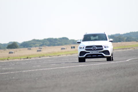 The Mercedes GLE in Assisted Driving testing