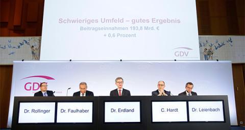 Jahrespressekonferenz des GDV - Respektables Gesamtergebnis