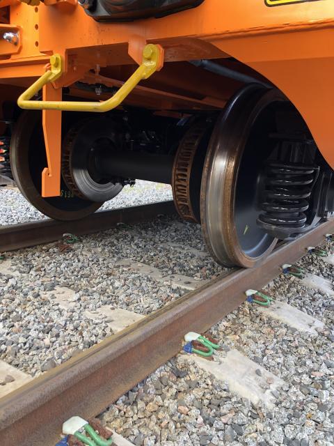Green Cargo och SSAB  nya skivbromsar på ny vagn